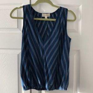 Anthropologie Cloth & Stone Sleeveless Blouse M